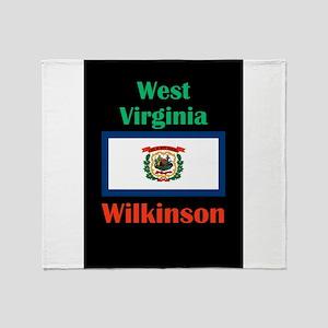Wilkinson West Virginia Throw Blanket