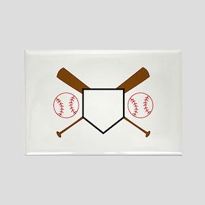 Baseball Design Magnets