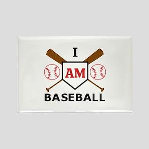 I Am Baseball Magnets