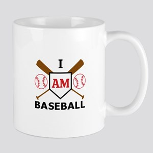 I Am Baseball Mugs