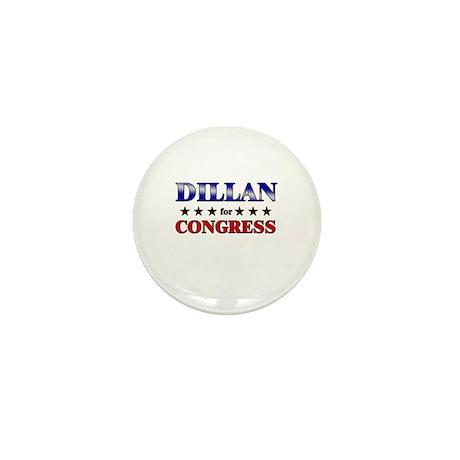 DILLAN for congress Mini Button