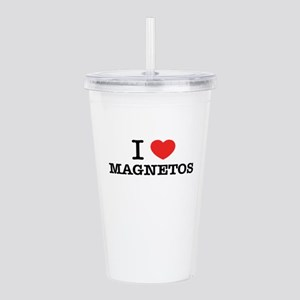 I Love MAGNETOS Acrylic Double-wall Tumbler