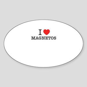 I Love MAGNETOS Sticker