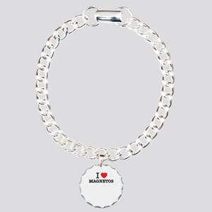 I Love MAGNETOS Charm Bracelet, One Charm