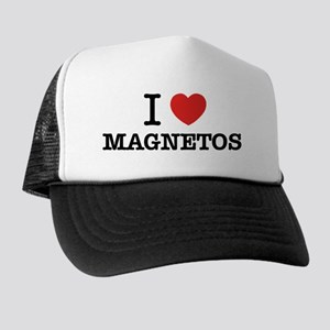 I Love MAGNETOS Trucker Hat
