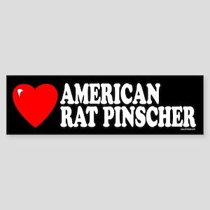 AMERICAN RAT PINSCHER Bumper Sticker