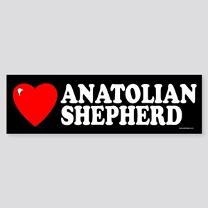 ANATOLIAN SHEPHERD Bumper Sticker