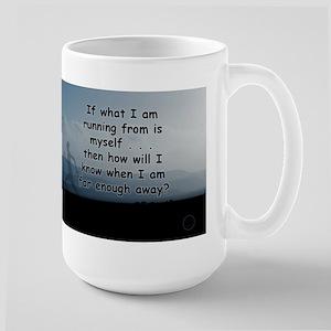 Running from self Mugs
