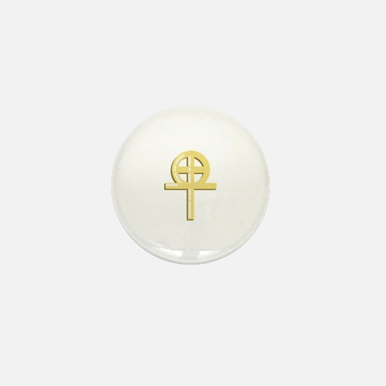Gnostic Cross Mini Button