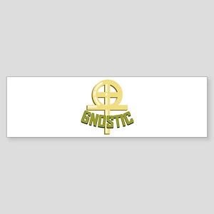 Gnostic Bumper Sticker