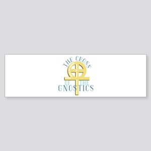Cross Of Gnostics Bumper Sticker