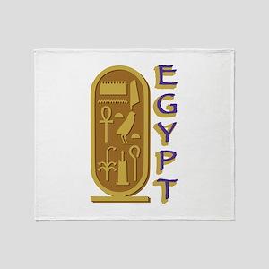 Egypt Throw Blanket