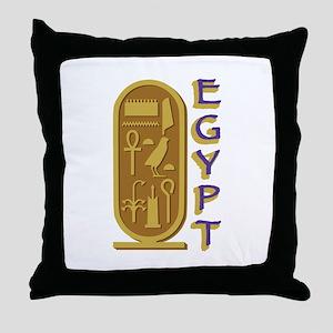 Egypt Throw Pillow