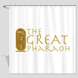 Great Pharaoh Shower Curtain