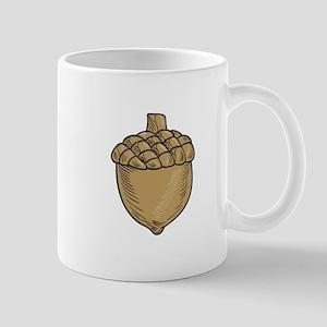 Acorn Drawing Mugs
