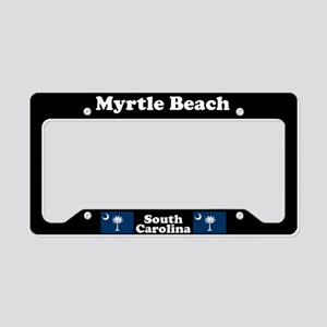 Myrtle Beach SC - LPF License Plate Holder