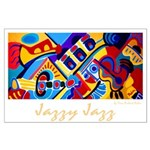 Large Poster<br>Jazzy Jazz