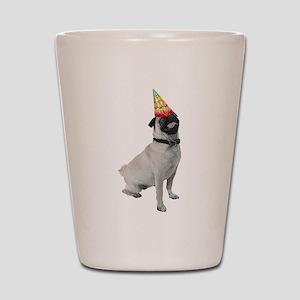 Pug Birthday Shot Glass