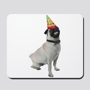 Pug Birthday Mousepad