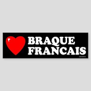 BRAQUE FRANCAIS Bumper Sticker