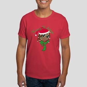 Kicking Spirit Happy Holidays A Dark T-Shirt