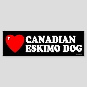 CANADIAN ESKIMO DOG Bumper Sticker
