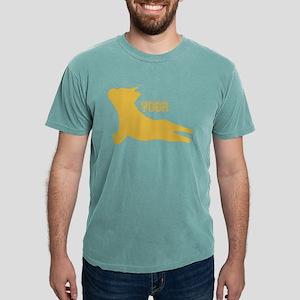 Bulldog Puppy Silhouette doing Yoga. Gifts T-Shirt