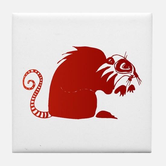 Ring Tail Lemur Tile Coaster