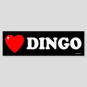 DINGO Bumper Sticker
