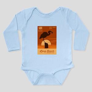 Long Beach - Washingto Long Sleeve Infant Bodysuit