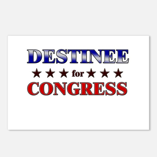 DESTINEE for congress Postcards (Package of 8)