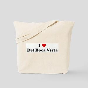 I Love Del Boca Vista Tote Bag