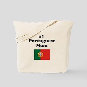 #1 Portuguese Mom Tote Bag