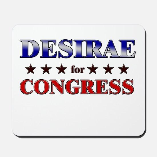 DESIRAE for congress Mousepad