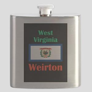 Weirton West Virginia Flask