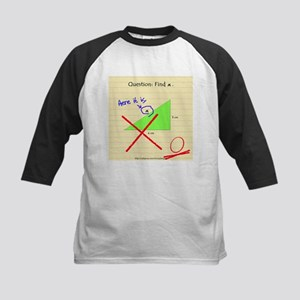 """Find x"" Kids Baseball Jersey"