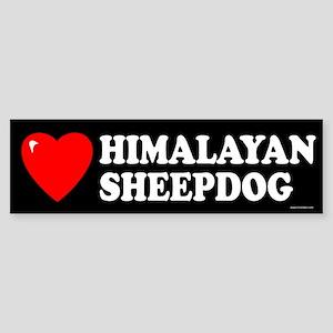 HIMALAYAN SHEEPDOG Bumper Sticker