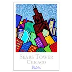 Large Poster<br>Sears Tower Chicago