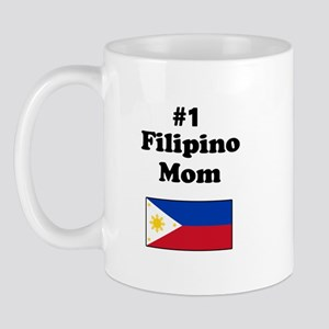 #1 Filipino Mom Mug