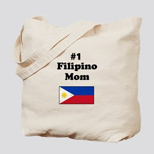 #1 Filipino Mom Tote Bag