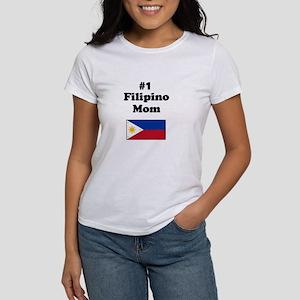 #1 Filipino Mom Women's T-Shirt