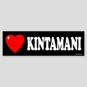 KINTAMANI Bumper Sticker