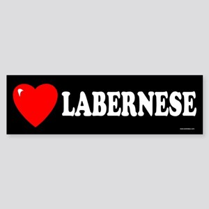 LABERNESE Bumper Sticker