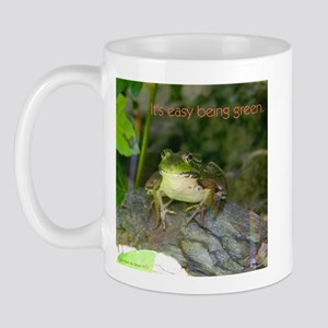 It's Easy Being Green Mug