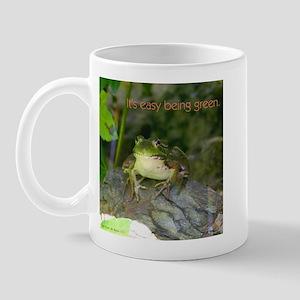 It's Easy Being Green Mug