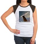 WILD SIDE WHALE Women's Cap Sleeve T-Shirt