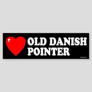 OLD DANISH POINTER Bumper Sticker