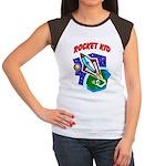 Rocket Kid Women's Cap Sleeve T-Shirt