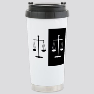Scales of justice Stainless Steel Travel Mug