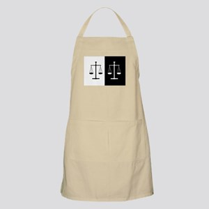 Scales of justice Apron